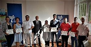 Üstün yetenekli bireyler sertifikalarını aldı