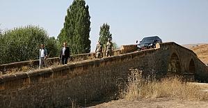 Vali Ali Hamza Pehlivan, Korgan Köprüde incelemelerde bulundu
