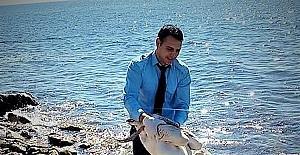 Yaralı pelikanı duyarlı vatandaş kurtardı