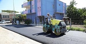 Yüreğir'de asfalt çalışmaları