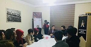 AK Parti Ağrı İl Başkanı Aydın ziyaretlerine devam ediyor