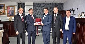 Ak Parti Genel Merkez Yerel Yönetimler Başkan Yardımcısı Salih Koca'dan Başkan Bakıcı'ya ziyaret
