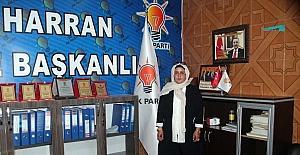 AK Parti Harran İlçe Kadın Kolları Başkanı Huriye Biter: