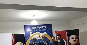 AK Parti Kargı gençlik kolları başkanı Üstünel oldu