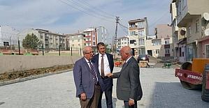 Albayrak, Çınarlı mahallesinde çalışmaları inceledi