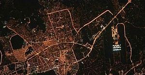 Antalya uzaydan böyle görüntülendi