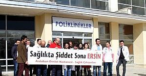 Ardahan'da doktorlar isyan etti