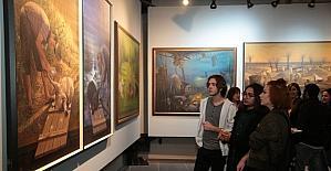 """Ayan'ın """"Bursa Retrospektifi"""" sergisi kapılarını açtı"""
