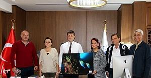 Başkan Akay, Türk Kızılayı ağırladı
