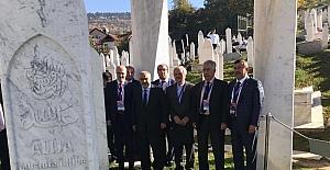 Başkan Karabacak, İzzetbegoviç'in anma törenine katıldı