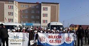 'Biz Anadoluyuz Projesi' kapsamında Ardahan'da ilk öğrenci kafilesi uğurlandı