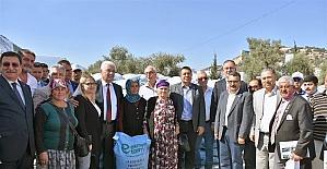 Büyükşehir'in Kırsal Kalkınmaya Desteler Sürüyor