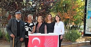 CHP'li kadınlar imza kampanyası başlattı