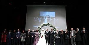 Cumhurbaşkanı Erdoğan, nikah törenine katıldı
