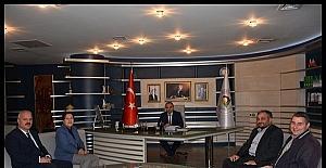 Dekan Ataoğlu Başkan Ay'ı ziyaret etti
