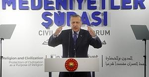 Erdoğan'dan ABD'ye medeniyet dersi