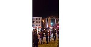 Erzincan da 4 itfaiye aracının müdahale ettiği yangın söndürüldü