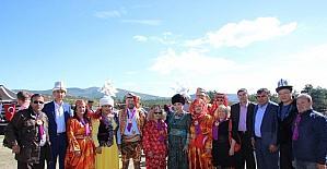 Eskişehirli sanatçılar Uluslararası Türk Dünyası Şöleni'ne katıldı