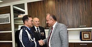 Güney Kore Cumhuriyeti Hava Ataşesi Park, Başkan Babaş'ı ziyaret etti