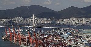 Güney Kore'nin, Ekim ayı ihracatı bir yıl önceki kıyasla yüzde 6.9 arttı