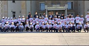 Hakkari'den 45 öğrenci il dışına uğurlandı