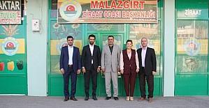 İMSİAD heyetinden Malazgirt'e ziyaret
