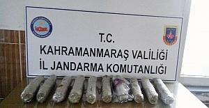 Kahramanmaraş'ta uyuşturucu ve kaçak içki operasyonu