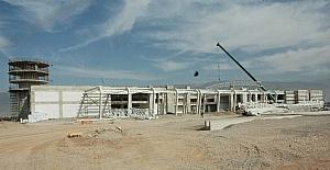 Kahramanmaraş'ta yeni havaalanı inşaatı hızla yükseliyor