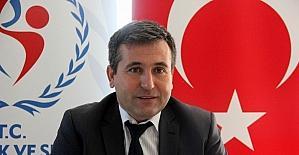 """Karayılmaz: """"Samsun, spor yönüyle Türkiye'nin gülen yüzü olacak"""""""