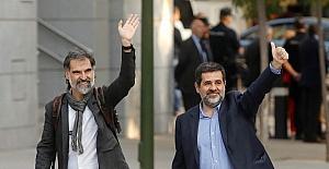 Katalonya'nın liderleri gözaltında
