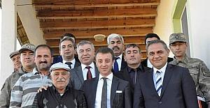 """Kaymakam Aytemür: """"Köylülerimizin sorunlarına çözüm bulacağız"""""""