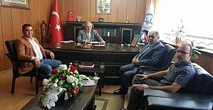 Körfez Ulu Cami yönetimi Müftü Arvas'ı ziyaret etti
