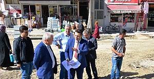Lapseki'de 15 Temmuz Şehitler Meydanı çalışmaları başladı