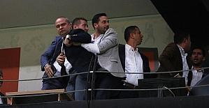 Manisaspor-Denizlispor maçında protokolde gerginlik