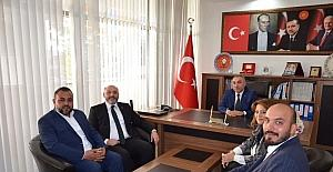 Mehmet Eşsiz'e ilk 'hayırlı olsun' ziyareti Başkan Ali Çetinbaş'tan