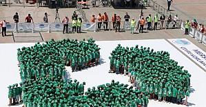 Mersin Büyükşehir Belediyesi Guinness Rekorlar Kitabı'na girdi