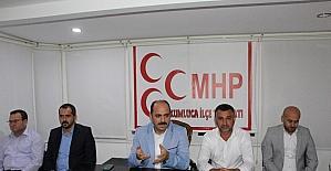 MHP Kumluca'da genişletilmiş ilçe toplantısı