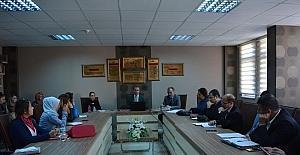 Osmaneli İlçe Milli Eğitim Müdürlüğü'nün proje hazırlığı toplantısı