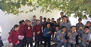 (Özel Haber) Kırkağaç'ta öğrenciler sağlıklı besleniyor