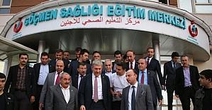 Sağlık Bakanı Demircan hastane binalarını inceledi