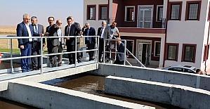 Sarayönü Atıksu Arıtma Tesisi tam kapasite hizmet vermeye başladı
