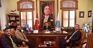 Sarmaşıklılar Derneği'nden Başkan Yağcı'ya ziyaret