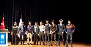 SAÜ'de şiir gecesi düzenlendi