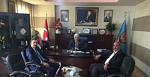 SGK Müdürü Göksoy'dan Başkan Tuğrul'a ziyaret