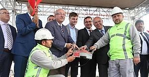 Süleymanpaşa Otobüs Terminalinin temeli atıldı