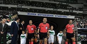 Süper Lig: Bursaspor: 1 - Osmanlıspor: 1 (Maç devam ediyor)