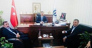 Taşdoğan, Başhekim Zengin'i ziyaret etti
