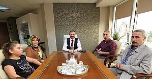 Taşova Belediyesinden, İlhan Bayram'a ziyaret