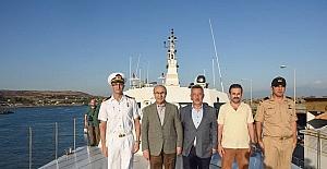 Vali Demirtaş, BOTAŞ'ta incelemelerde bulundu