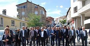 Vali Kalkancı ve milletvekilleri Çelikhan'da vatandaşlarla bir araya geldi